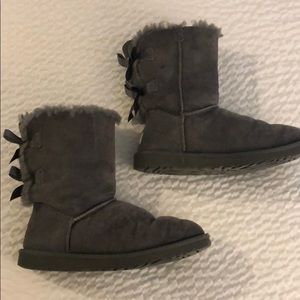 Ugg Boots with bow details – Bailey bow style